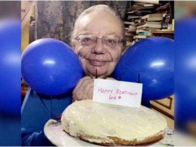 Inside Ruskin Bond's 86th birthday party: Carrot cake, blue balloons and a heartfelt message