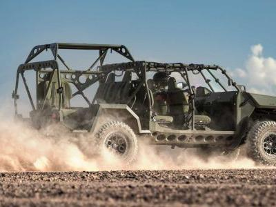 GM Is Building A Chinook-Friendly, Colorado ZR2-Based Troop Carrier
