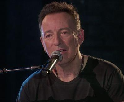"""Bruce Springsteen Performs a Sentimental """"My Hometown"""" at the Tony Awards"""