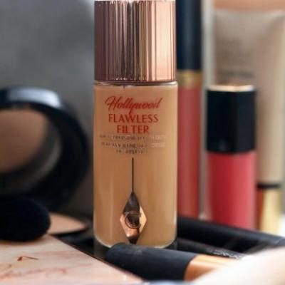 Unsung Makeup Heroes: Charlotte Tilbury Hollywood Flawless Filter Customizable Complexion Booster