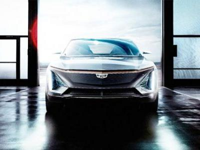 Cadillac Teases Photos of Its First Fully Electric Vehicle