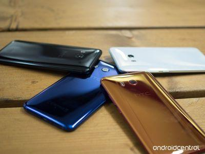 HTC U11 preview: Shiny and squeezy