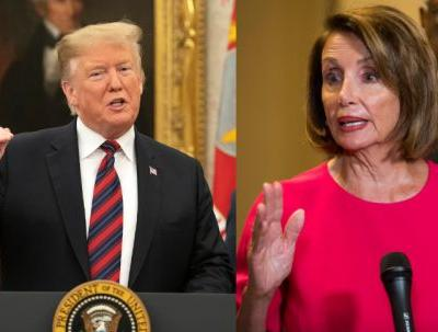 """Nancy Pelosi's Response To Donald Trump Saying She's """"Lost Control"""" Is To The Point"""