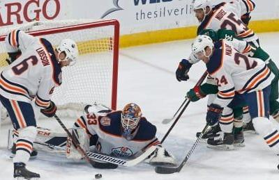 Nurse gives Oilers early boost in win over Wild