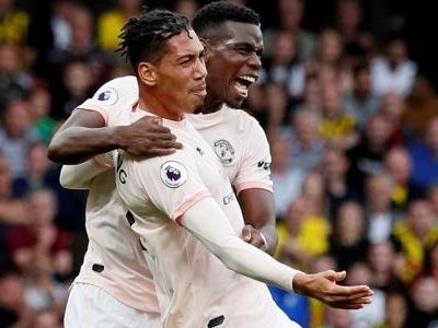 Man United ends Watford's perfect EPL start