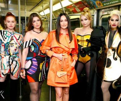 See What Kacey Musgraves, Madelaine Petsch and More Wore to Moschino's Pre-Fall 2020 Show in New York