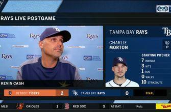 Kevin Cash details Charlie Morton's 10-strikeout start, loss to Tigers