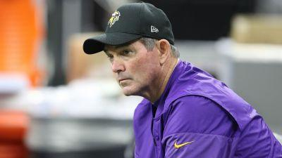 Vikings coach Mike Zimmer to miss part of OTAs after eye surgery