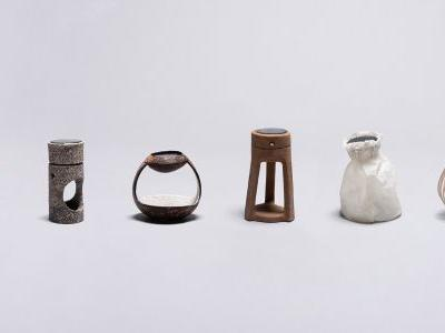 Six Students Design Solar-Powered Lamps From Collagen, Black Beans, and Agave Plants