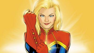 Comic-Con: Captain Marvel Reveals Include '90s Setting and Villain!