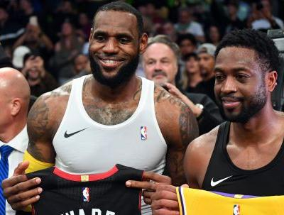 Dwyane Wade is confident his friend will win with Lakers: 'It's LeBron James, man'
