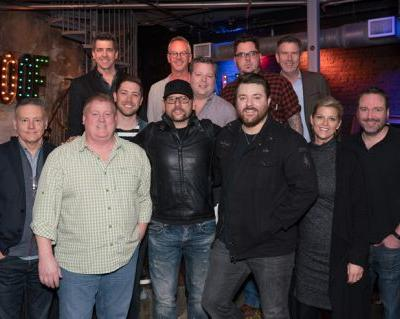 "News: Chris Young Celebrates 10 No. 1 Singles with Party and Live Performance at ""Ten"" Roof Broadway"