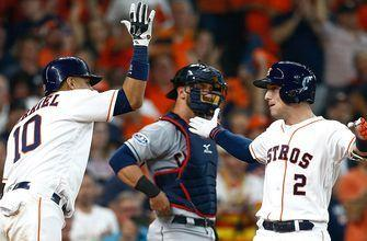 Alex Bregman and George Springer go deep in Houston's 7-2 win over Cleveland