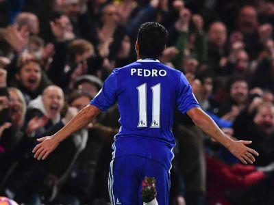 Chelsea 4-1 Peterborough: Pedro leads 10-man Blues into fourth round