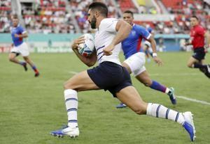 At his 5th World Cup, Parisse leads Italy to a win v Namibia