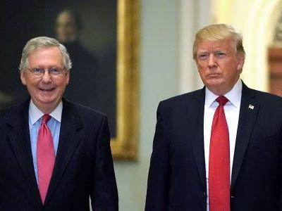 INSIDE TRUMP'S MEETING WITH SENATE REPUBLICANS: President brings up trade deals the GOP keeps fretting about