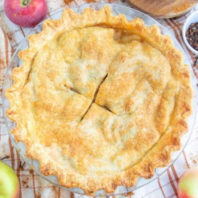 Vegan Homemade Apple Pie
