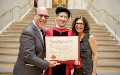 Mark Zuckerberg finally gets his Harvard degree - 12 years after dropping out