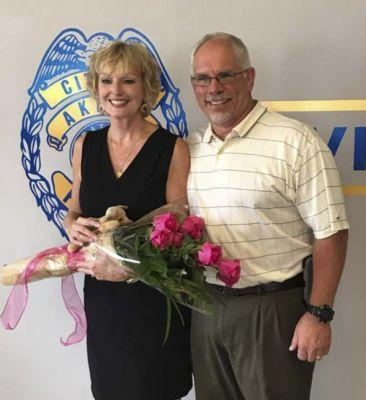 Let's be careful out there: Akron Police Capt. Sylvia Trundle retires Friday at roll call with friends, theme from 'Hill Street Blues'