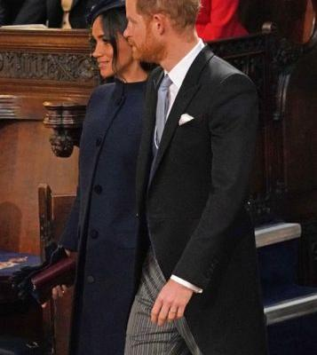 Prince Harry & Meghan Markle's Body Language At Princess Eugenie's Wedding Was As Sweet As Ever