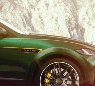 Lister Teases Beastly Jaguar F-Pace SVR As 'World's Fastest SUV'