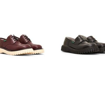 Adieu Reworks Kickers' Aktive Derby and Aktuelle Loafer With Signature Crepe Sole