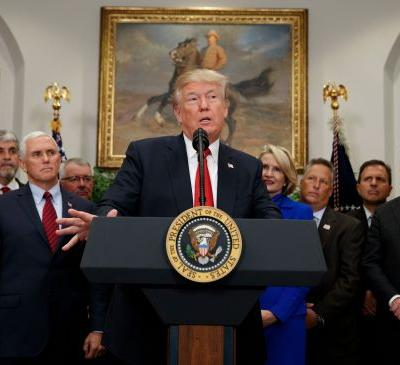 Several states vow to sue Trump administration over Obamacare sabotage