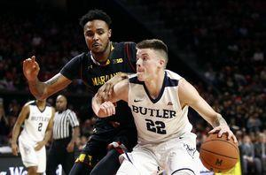 Cowan scores 25 to carry Maryland past Butler 79-65