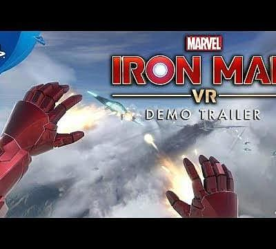 Iron Man VR Demo Out Now, PSVR Bundle Coming Soon