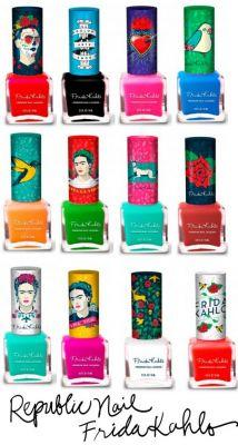 Tuesday Temptations: Trying to Track Down the Republic Nail Frida Kahlo Collection