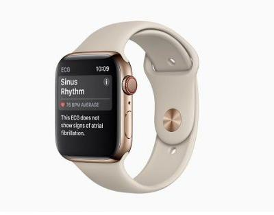 Apple's gets first FDA clearance for retail ECG watch technology