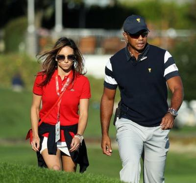 Meet Erica Herman, Tiger Woods' mysterious girlfriend who often joins him at big tournaments