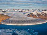 From New Zealand to Alaska: Incredible pictures reveal the sheer majesty of the world's glaciers