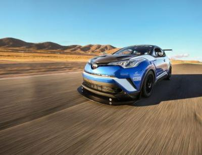 We Track the Wild Toyota C-HR R-Tuned! It's Nothing Like Stock, and That's a Good Thing