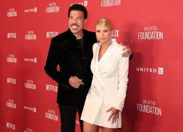 Lionel Richie's Quote About Sofia Richie & Scott Disick Dating Is Such A Diss