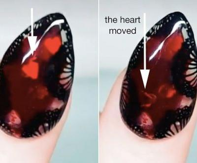 This New Manicure Trend Will Turn Your Manicure Into An Aquarium