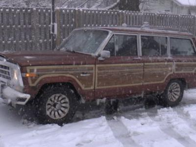 How Our $800 Rear-Wheel DriveJeep Handled An Unexpected Snowstorm