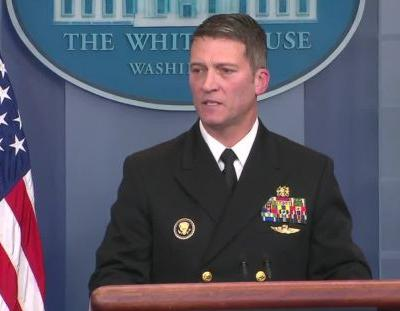 White House doctor: 'No concerns' about Trump's cognitive ability