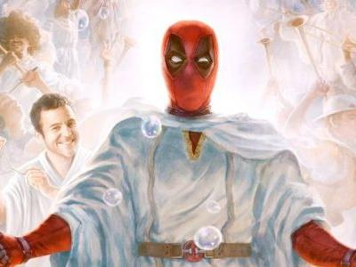Yule Believe in Miracles in New Once Upon a Deadpool Poster