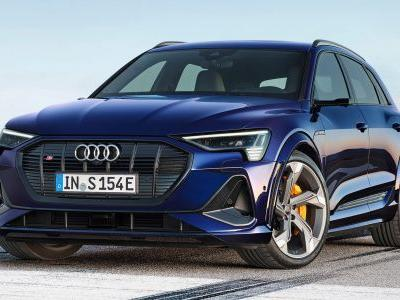 New Audi e-tron S and e-tron Sportback S Revealed With 496 HP