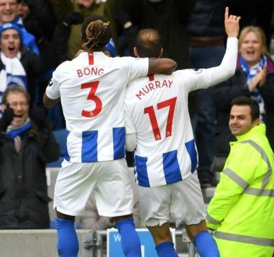 Brighton and Hove Albion 1 Wolves 0: Murray reaches century with Seagulls winner