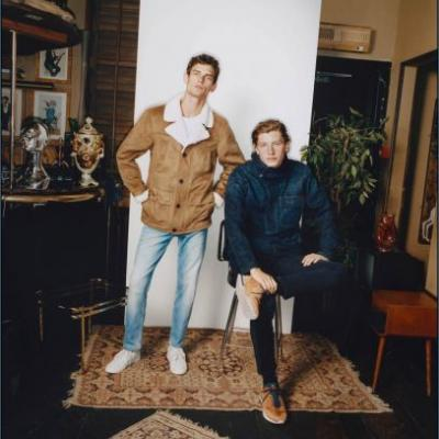The Members Club: Arthur Gosse & Jelle Honing for Pepe Jeans Fall '18 Campaign