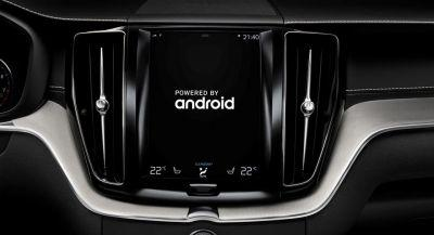 Volvo Partners With Google For Android-Based In-Car Tech