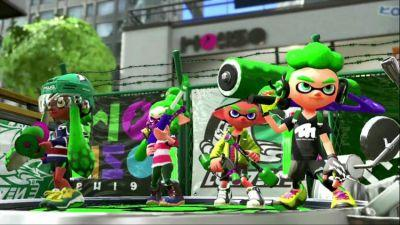 Splatoon 2 splats to Switch today
