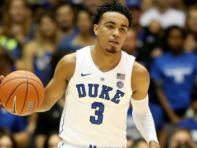 Duke guard Tre Jones out indefinitely after suffering shoulder injury in loss to Syracuse