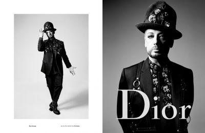 Boy George and A$AP Rocky team up with Dior Homme