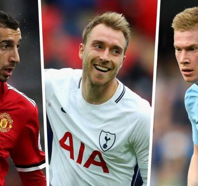Premier League most assists 2017-18: Man City stars dominant