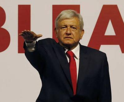 Mexican front-runner promotes 'well-being of the soul'