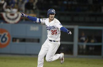 NLCS tied: Bellinger lifts Dodgers over Brewers 2-1 in 13