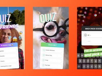 Instagram adds new quiz sticker for asking multiple choice questions through Stories